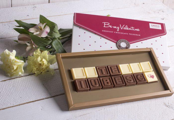 """Spune """"Te iubesc"""" cu o ChocoTelegramă"""