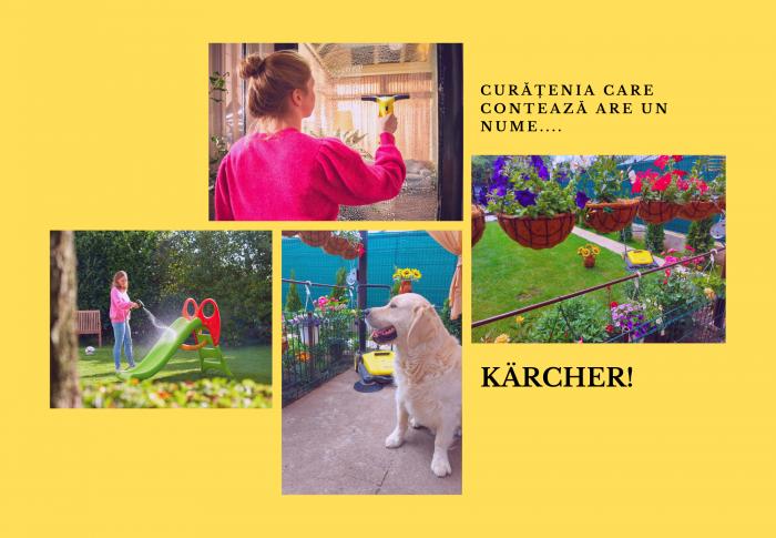 Curățenia care contează pentru casă, grădină și terasă
